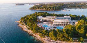 Hotel Parentium Plava Laguna Entrance Landscape